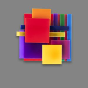 Spilla LE CORBUSIER multicolor
